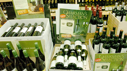No program in recent memory has been a bigger hit than the Chairman's Selection, which uses the state's massive purchasing power to buy wines at discounted prices.