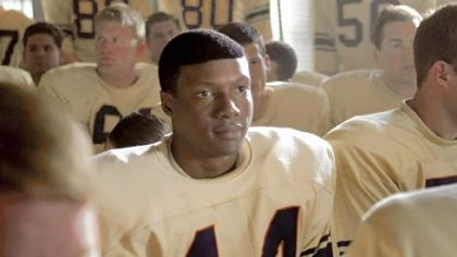 Rob Brown as college football hero Ernie Davis in &quot;The Express.&quot;