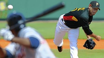 Pirates starter Ian Snell on the mound earlier this month.