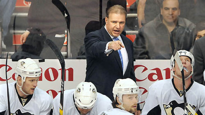Therrien is 108-80-18 in two-plus seasons behind the Penguins' bench.