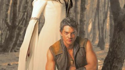 "Bridget Regan and Craig Horner in ""Legend of the Seeker."""