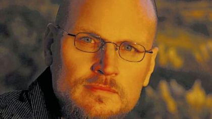 "Author Augusten Burroughs,  the author of ""Running With Scissors,"" is back with another memoir, ""A Wolf at the Table."""