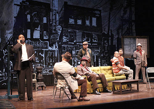 Fences By August Wilson Set
