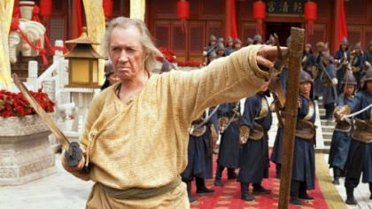 David Carradine stars in a Hallmark Movie Channel HD original &quot;Son of the Dragon&quot; at 8 p.m. Wednesday.