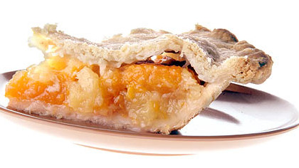 This Apricot Pineapple Pie is an easy winter pie you can make with ingredients likely in your pantry.