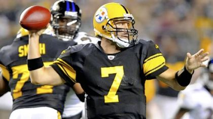 Ben Roethlisberger: No 200-yard games yet? Just you watch Sunday night in Jacksonville.