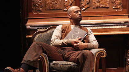 "Ruben Santiago-Hudson as Boy Willie in ""The Piano Lesson"" at Kennedy Center."