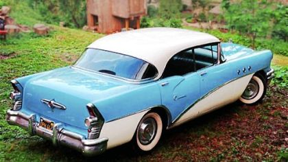 The 1955 Buick Special was among the GM products designed by Harley Earl.