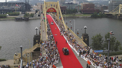 Celebrations such as this year's marking Pittsburgh's 250th birthday can give cities a shared sense of purpose. A similar event occurred in 2006, when the region rolled out the red carpet for visitors to baseball's All-Star Game.