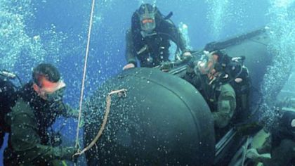 Navy SEALs&#039; rigorous training for specific underwater tasks can lead to injury.