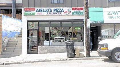 Aiello's Pizza in Squirrel Hill is the first stop off the Parkway for one out-of-town reader.