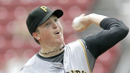 Pirates starter Tom Gorzelanny couldn't hold a 5-0 lead his teammates built in the first two innings yesterday.
