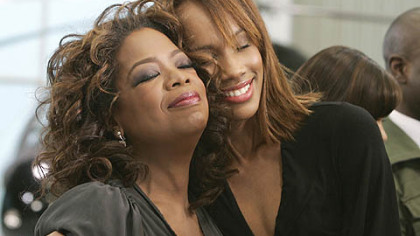 "Oprah Winfrey gives 10 contestants, such as Rachael, right, the opportunity to change a life in ""Oprah's Big Give."""