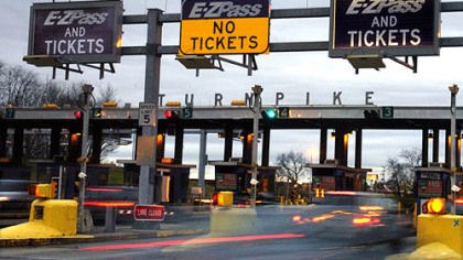 The Monroeville interchange -- gateway to Pittsburgh for travelers from the east.