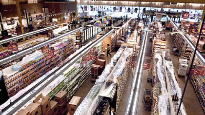 Pittsburgh's Whole Foods in the fall of 2002, when it opened.