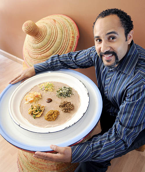 Restaurant review earthy spicy ethiopian dishes are the for Abay ethiopian cuisine pittsburgh