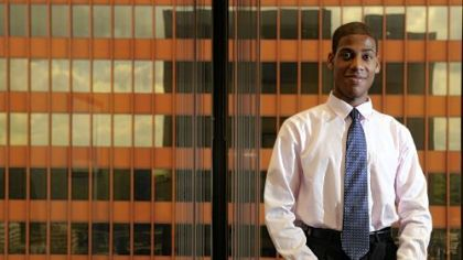 Daniel Joyner is one of several African-American students introduced to corporate America this summer through internships offered by FAME.