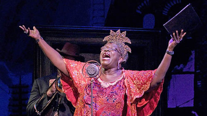 "Ebony Jo-Ann  in the title role of ""Ma Rainey's Black Bottom"" at Kennedy Center."