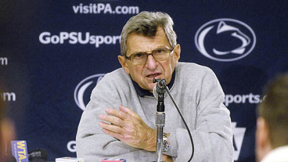 Joe Paterno breaks his silence.