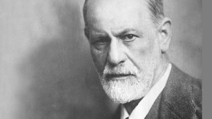 Sigmund Freud, the father of psychoanalysis and the progenitor of a long line of accomplished offspring.
