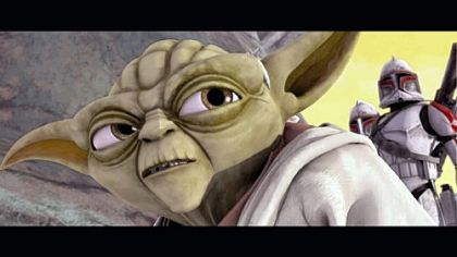 "Yoda is among the familiar ""Star Wars"" characters to appear in the new Cartoon Network series ""Star Wars: The Clone Wars."""