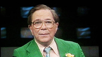 Bill Currie on KDKA-TV in the 1970s.