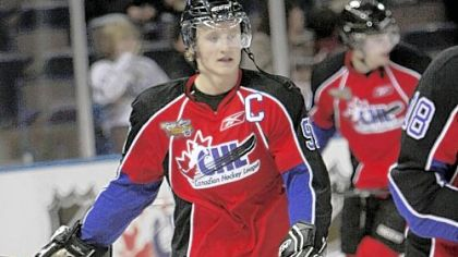 Steven Stamkos, top prospect in NHL draft.