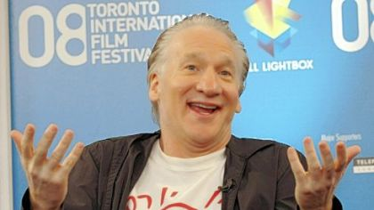 "Television personality Bill Maher discusses ""Religulous"" during the Toronto International Film Festival."