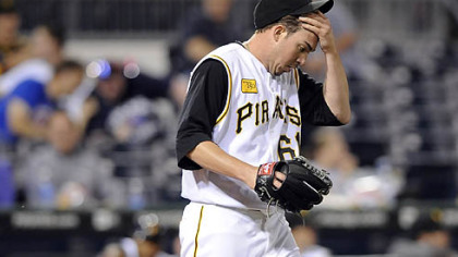 Sean Burnett was one part of the Pirates' eighth-inning collapse last night.