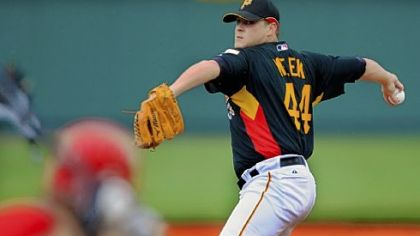 Evan Meek: Strong numbers in Mexican winter league.