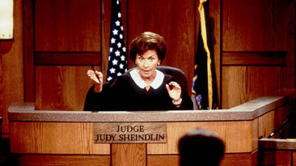 &quot;Judge Judy,&quot; with Judge Judy Sheindlin presiding, leads court reality shows in ratings.