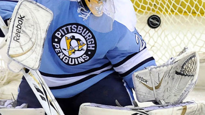 Penguins goalie Marc-Andre Fleury does not like having two days off without skating then playing right away like the Penguins are doing tonight against New Jersey.