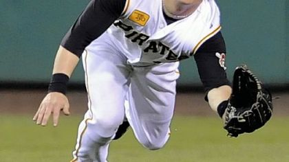 Nate McLouth is the Pirates' first Gold Glover in 15 years.