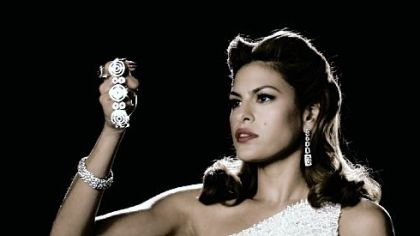 "Eva Mendes in ""The Spirit."""