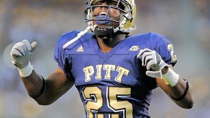 Pitt's LeSean McCoy celebrates a touchdown earlier this season.