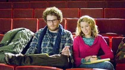 Seth Rogen and Elizabeth Banks at McKeesport Little Theater