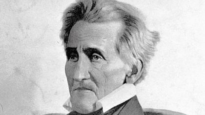 President Andrew Jackson, shown in an undated portrait, continues to fascinate historians.