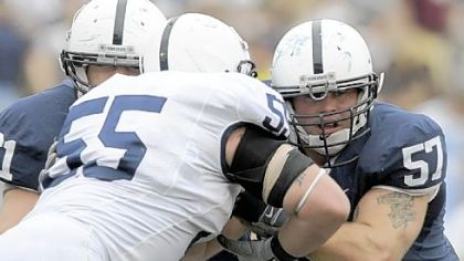 Penn State center A.Q. Shipley is a Moon High School graduate.