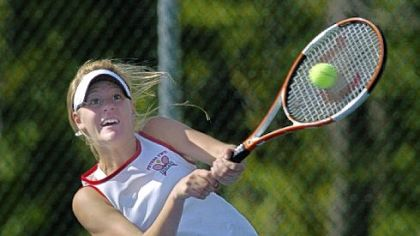 Allison Riske only competed one year for Peters Township High School, but she won WPIAL and PIAA singles titles that season.