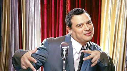 Carlos Mencia offers a piece of his mind at Heinz Hall Saturday night.