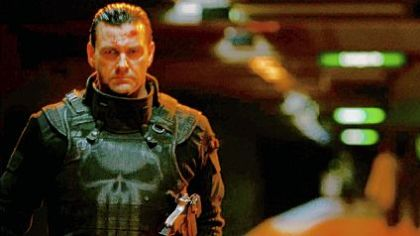 Ray Stevenson -- Brylcreem and gadgets, but no charm.