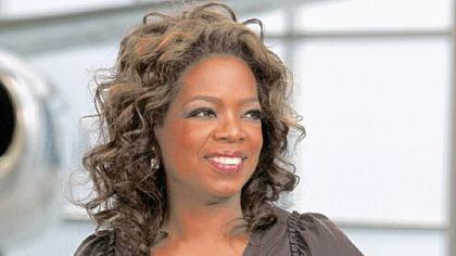 Oprah is having poundage problems once again.